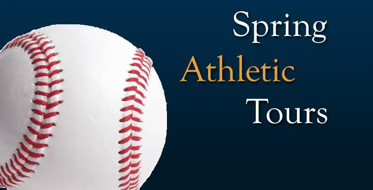Spring Athletic Tours