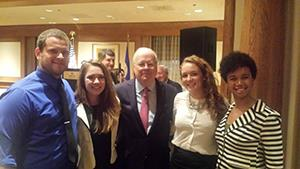 Dining with Karl Rove
